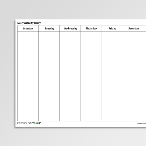 Depression Worksheets For Professionals and Self-Help | Psychology Tools