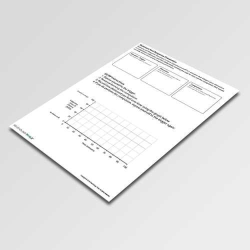 Cognitive Behavioral Therapy Exposure And Response Prevention Worksheet