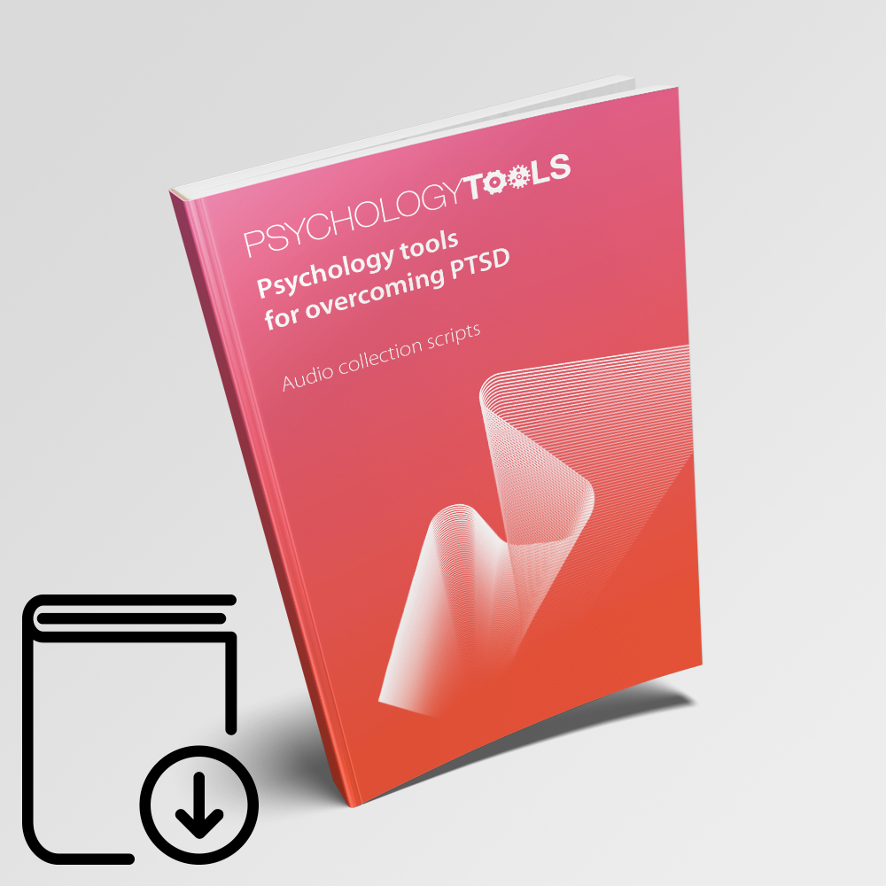 Psychology Tools For Overcoming PTSD Audio Collection Therapist Edition Scripts