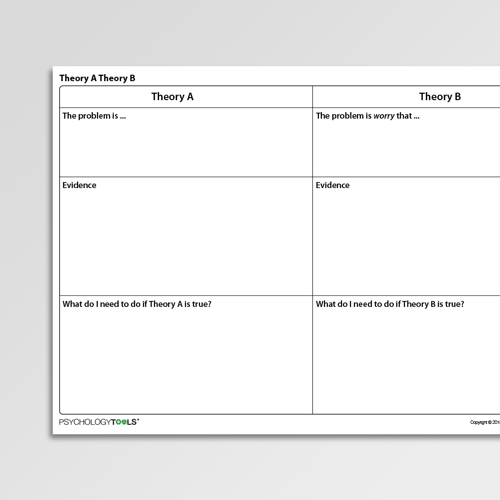 CBT Worksheets, Handouts & Exercises | Psychology Tools